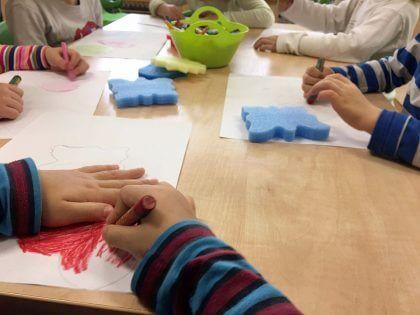 Maľujeme nakreslený obrys
